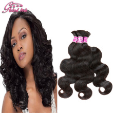 Mixed Length Indian Virgin Hair Body Wave Human Braiding Hair Bulk 3pcs Unprocessed Human Hair For Braiding Bulk No Attachment