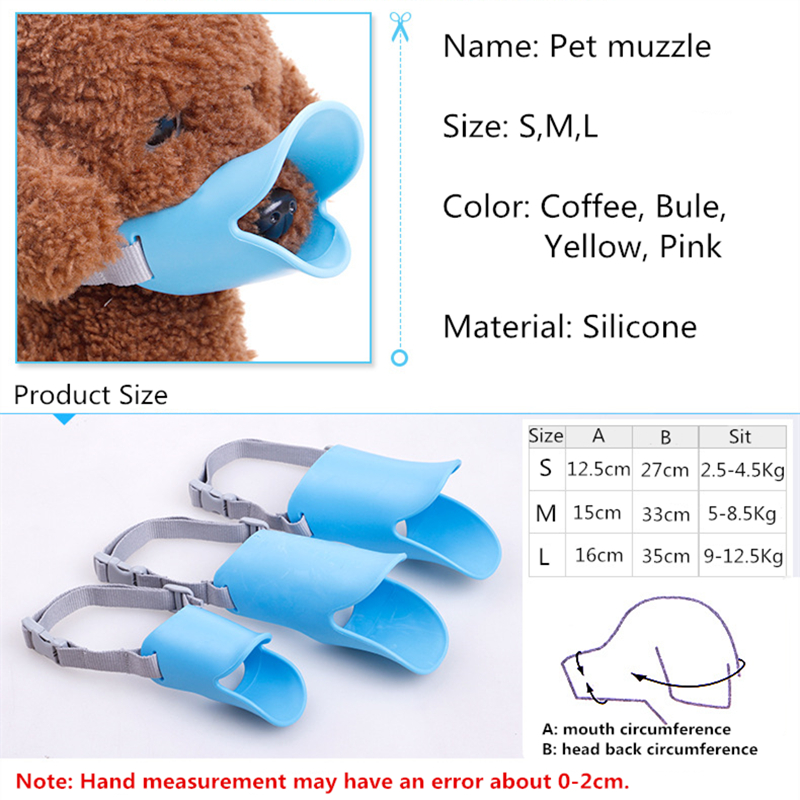 Pet Muzzle for Dogs Pet Training Anti bite Masks for Dogs Pet Accessories For Small Medium Dogs Cats Puppy Bark Bite Stop in Dog Accessories from Home Garden