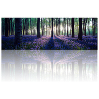 Modern Large Canvas Wall Art Lavender Forest Painting Prints Landscape Picture Canvas No Frame Home Living