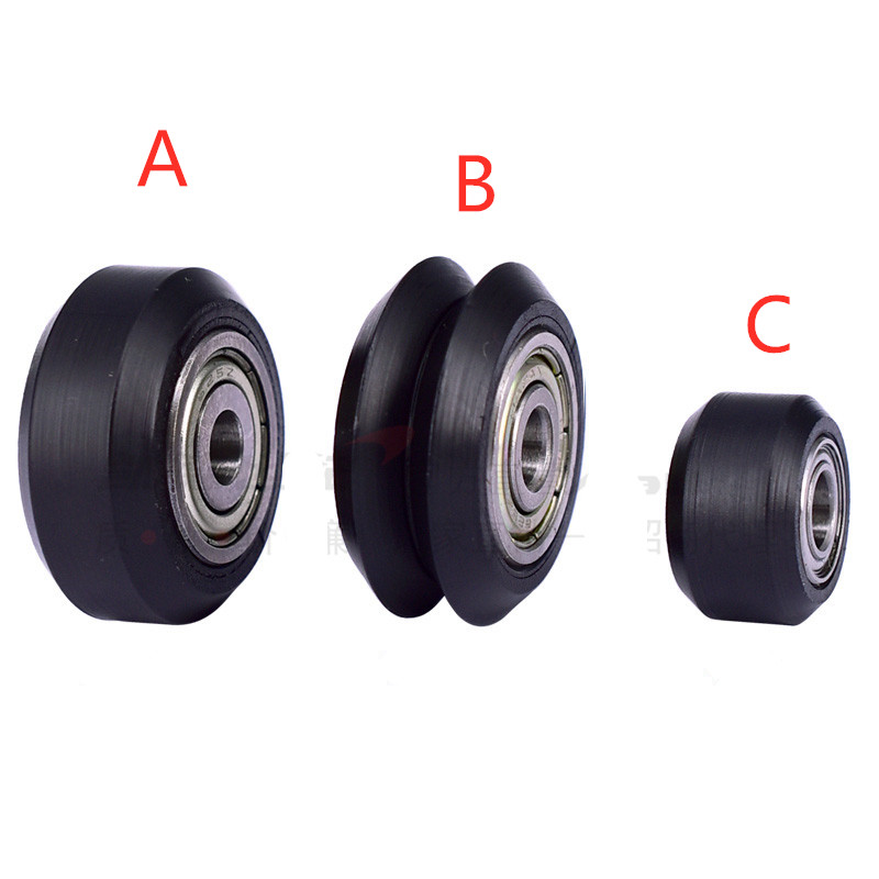 Openbuilds V-slot solid wheel pulley CNC Wheel Roller pulley delrin mini idler pulley CNC solid wheel for 3D printer accessories