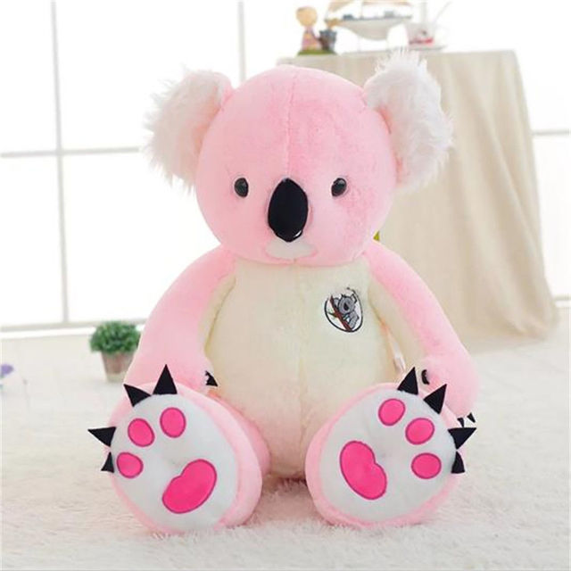 80cm Pink Koala Doll Soft Cute Plush Stuffed Animal Toys Great Gift for Kids