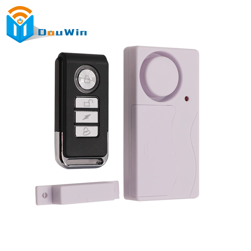 Remote Control Alarm Security Door Window Timely Burglar Home Siren Magnetic Sensor Warning System Door Window Detector free shipping mager 10pcs lot ssr mgr 1 d4825 25a dc ac us single phase solid state relay 220v ssr dc control ac dc ac