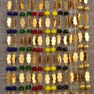 Image 4 - Anniyo זהב צבע צלב תליון כדור חרוזים שרשרת שרשראות גברים נשים הוואי מיקרונזיה Chuuk מרשל תכשיטי צלבים #192306