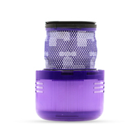 1 Customized Purple washable HEPA Post Filter For Dyson V11 SV14 stick handheld Vacuum Cleaner