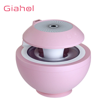 400ML 3 In 1 Air Humidifier Ultrasonic Humidifiers USB Led Light Electric Aroma Diffuser Fogger Portable Mist Maker Mini Fan