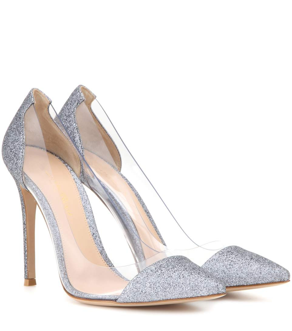 silver glitter high heels promotionshop for promotional