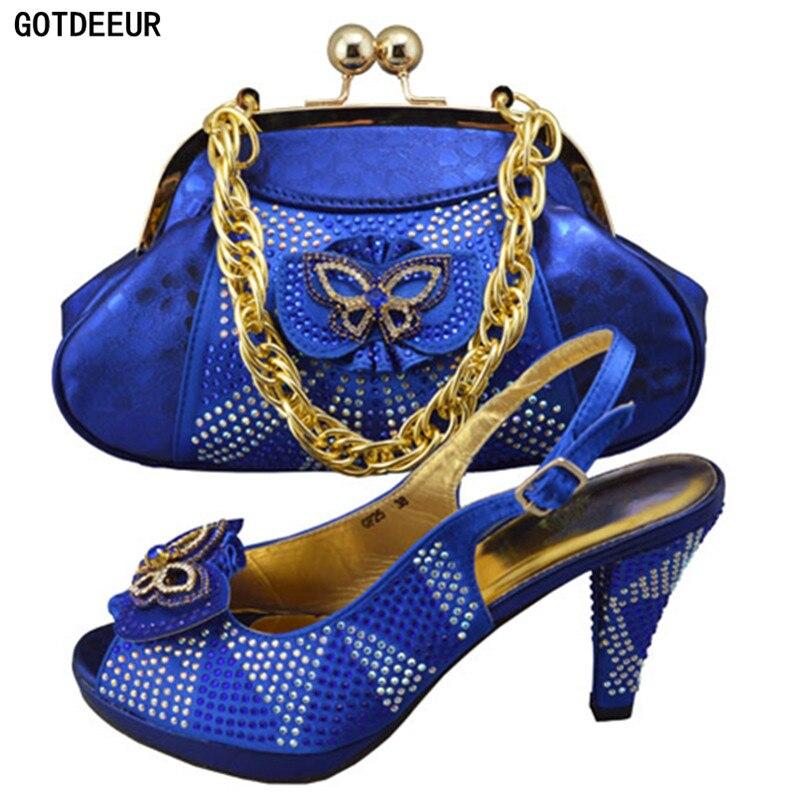 Pour Chaussures Army Femmes Sacs bleu De À Bleu Correspondre Italien Couleur Nigérian Sac Mariage Et Royal Ensemble pourpre Avec jaune Partie Set Green XtwfOOqYxU