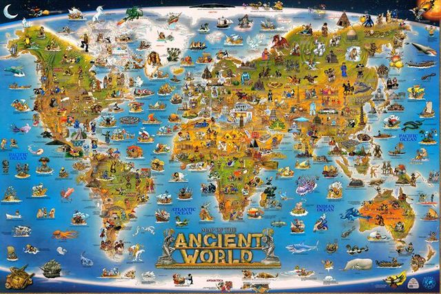 World Map Jigsaw Puzzle For Adults. Ancient World The wooden puzzle 1000 pieces ersion paper jigsaw  white card adult children s educational