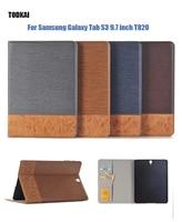 Jeans di modo Dell'unità di elaborazione per Samsung Galaxy Tab S3 9.7 pollici T820 SM-T825 tablet cover per Samsung Galaxy Tab S3 9.7 caso