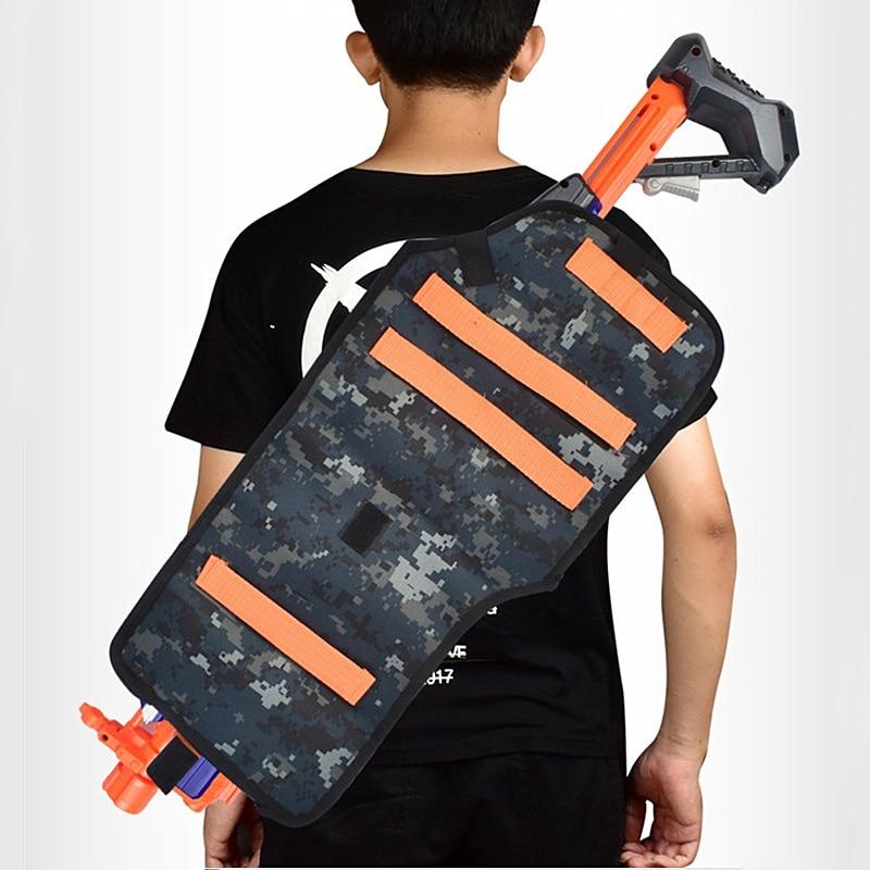 Nerf Gun Bag Tactical Equipment For Nerf Accessories Nerf Bag Portable Handbag For Nerfs Magazine N-Strike Elite Series Backpack