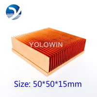 High Quality Electronic Heat Sinks Heat Sink Power Sink Radiator For CPU Copper Heatsink Skiving Fin