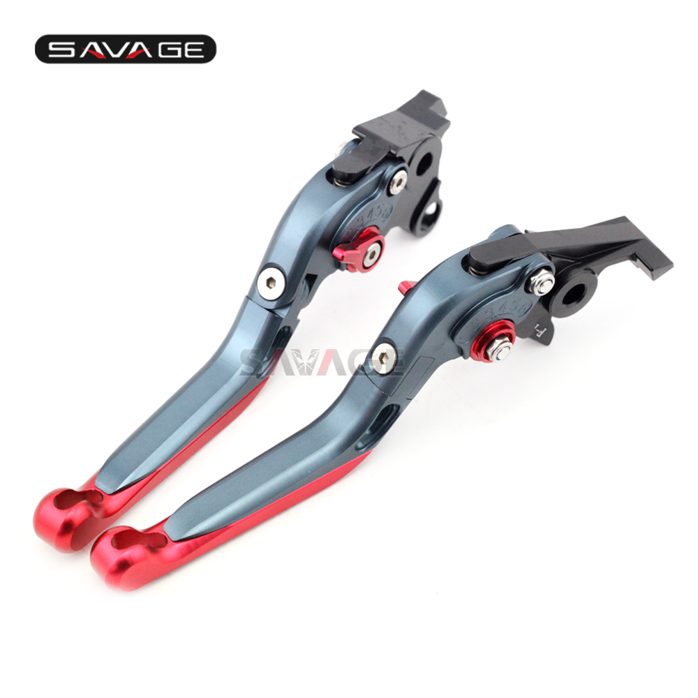 Brake Clutch Lever For SUZUKI GSF 650/1200/1250 BANDIT GSX650F GSX1250F GSX1400 Motorcycle Adjustable Folding Extendable цена