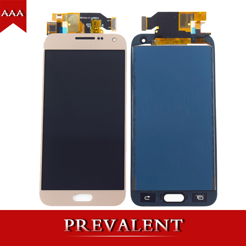Para Samsung Glaxy E5 E500 E500F E500H E500M módulo del Panel de exhibición del LCD + pantalla táctil Digitizer Sensor Asamblea