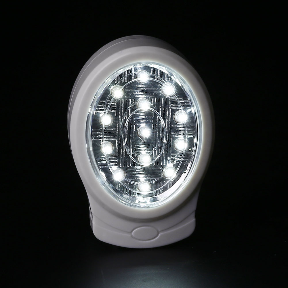 Rechargeable Night Light Emergency Lamp Automatic For Power Cut Outage EU Plug