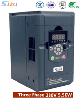 Original SJZO Variable 50hz 60hz 5.5KW AC Drive 3 Phase Frequency Inverter VFD Motor Control 380V Input controller Inverter