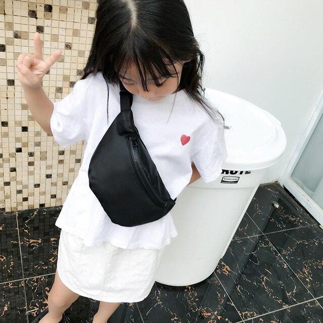 LEFTSIDE Nylon Waterproof Funny Packs For Women 2018 Candy Color Children Waist Bags Small Chest Bag Girls Travelling Belt Bags