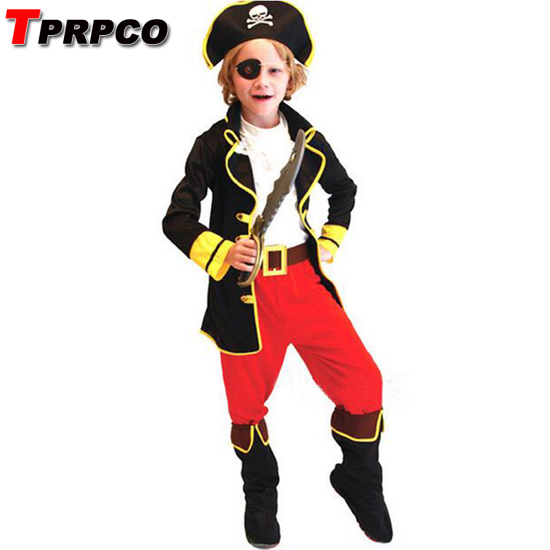 New Year Christmas costumes children cosplay halloween costume role children party clothes retail pirate costume kids NL118