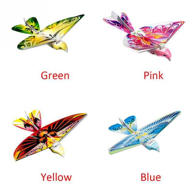 New Helicopter Flying RC Bird 2 4 GHz Remote Control E-Bird Flying Birds  Electronic Mini RC Drone Toys