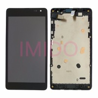 For Lumia 535 LCD Display Touch Screen Digitizer Assembly Frame Replacement Parts