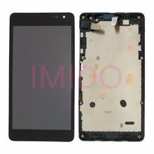 Voor Nokia Lumia 535 RM 1090 Versie 2 S 2C Lcd scherm + Touch Screen Digitizer Vergadering + Frame Vervanging Onderdelen