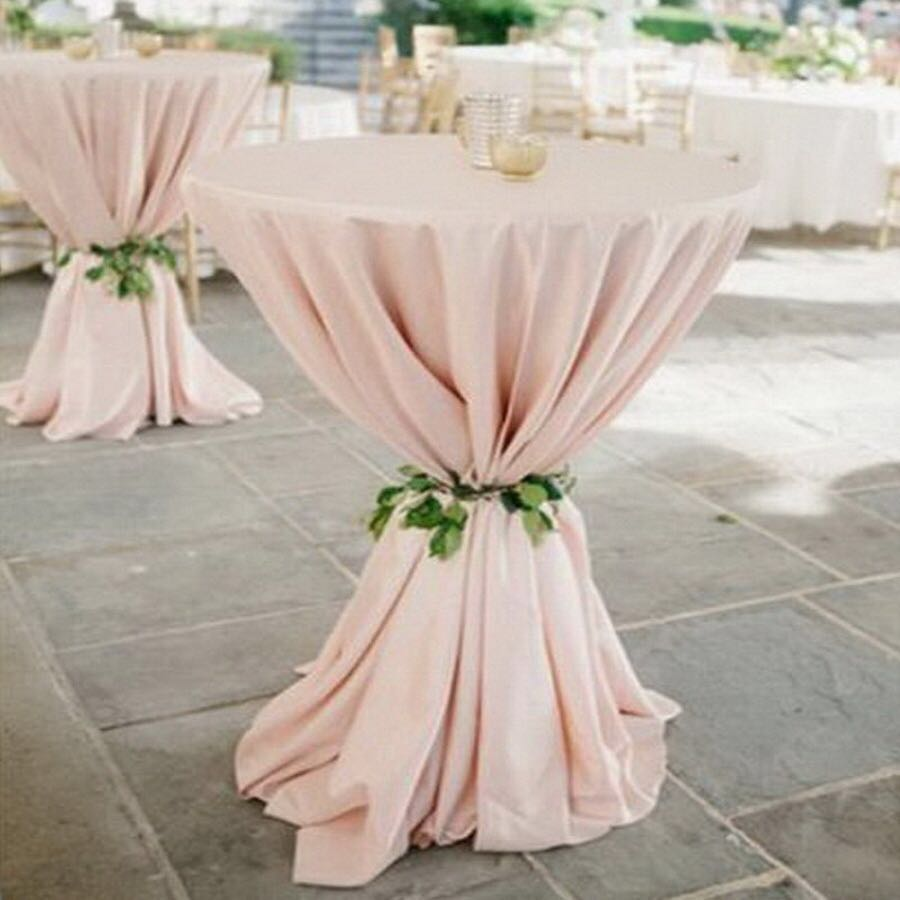 High Quality White Polyester Plain Fabric For Wedding Events Party Hotel Banquet Decoration TableCover Cloth Towel