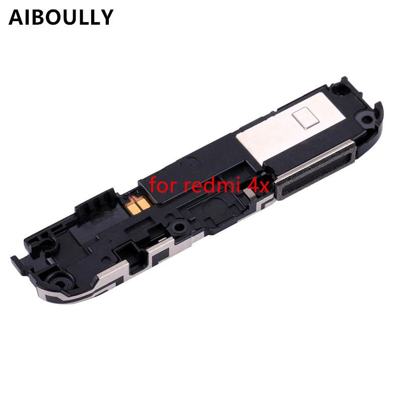 AIBOULLY Original 100%New Speaker For Xiaomi Redmi 4X Speaker Buzzer Ringer Flex Cable Replacement