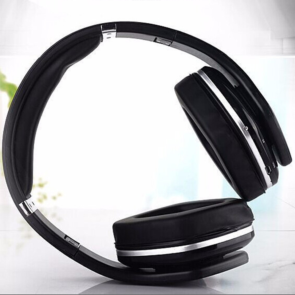 High Quality Bluetooth Headset Wireless Headphone with TF Card Handsfree Colorful Mobile Phone Music Headphones with Microphone