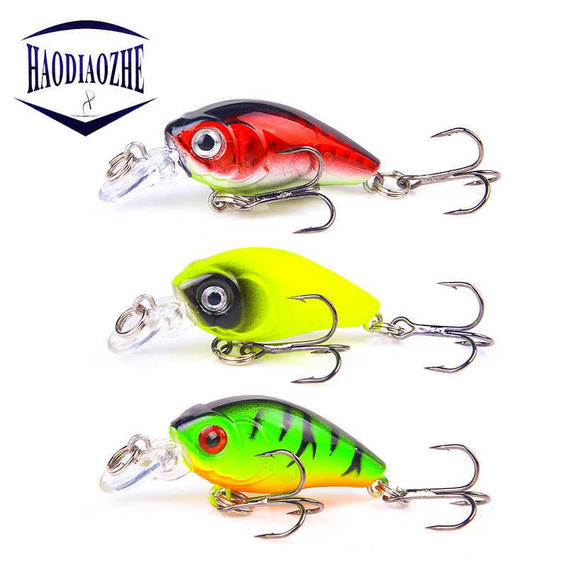 Mini Crankbait Fishing Lures 4.5cm 4.2g Topwater Isca Artificial Japan Hard Bait Minnow Swimbait Trout Bass Carp Fishing Tackle