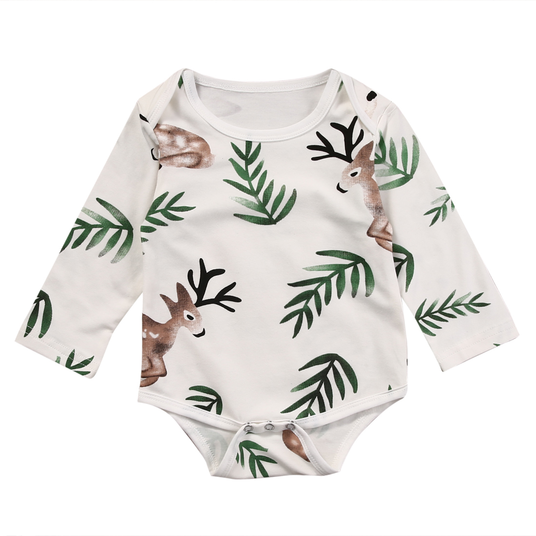 Newborn Infant Baby Boy Girl Kids Cotton Romper Jumpsuit One-Pieces Clothes Outfits newborn infant baby girl clothes strap lace floral romper jumpsuit outfit summer cotton backless one pieces outfit baby onesie