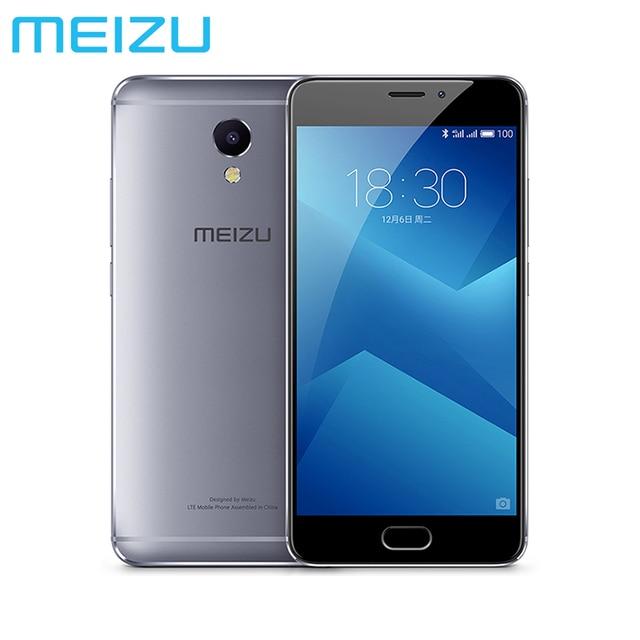Original Meizu M5 NOTE 5 32GB 5.5 inch 1080P Helio P10 Octa core 3GB RAM GPU 13MP camera 4000mAh mTouch mobile phone