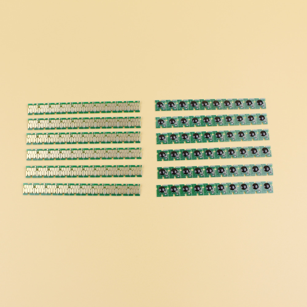 Newest stable one time chip for Epson SC F6070 maintenance tank for Epson F6070 F6200 F9200