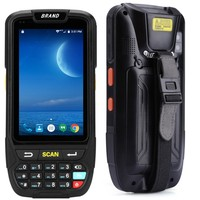 PDA Scanner Industrial IP65 Rugged Warehouse 2D QR code 1D Laser scanner PDA Handheld Android Barcode Scanner terminal