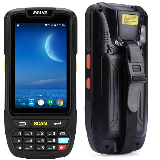 PDA Scanner Portable Data Collector IP65 Rugged Warehouse 2D QR 1D Laser scanner PDA Handheld Terminal Android Barcode Scanner