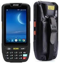 Pda Scanner di Raccolta Dati Portatile IP65 Robusto Magazzino 2D Qr 1D Laser Scanner Pda Palmare Terminale Android Scanner di Codici a Barre