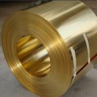 0 15x200mm 1meter H62 Brass Sheet Brass Strip Gold Copper Foil Plate Free Shipping