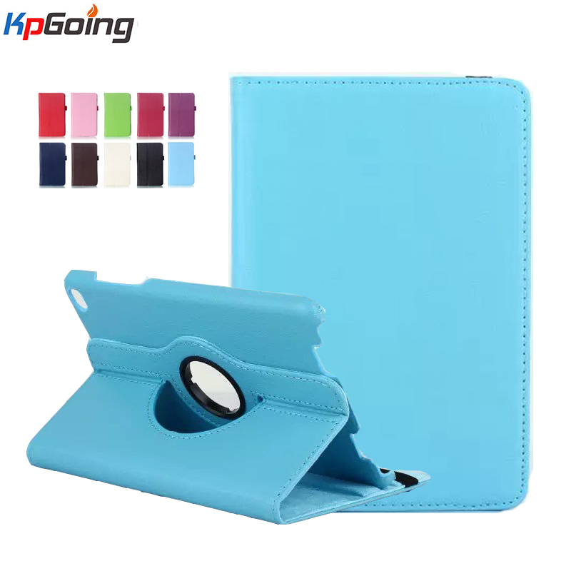 Rotation Case for Xiao Mi Pad 2 Flip Stand Business Cover for  Xiaomi Mipad 2 Case Pu Leather Smart Case for Mipad 2 Fundas