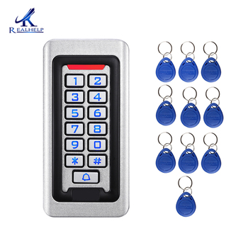 2000Users IP68 Waterproof  Metal Stainless steel RFID Access Control Keypad ID card Reader security 12V/24V DC and AC - discount item  8% OFF Access Control