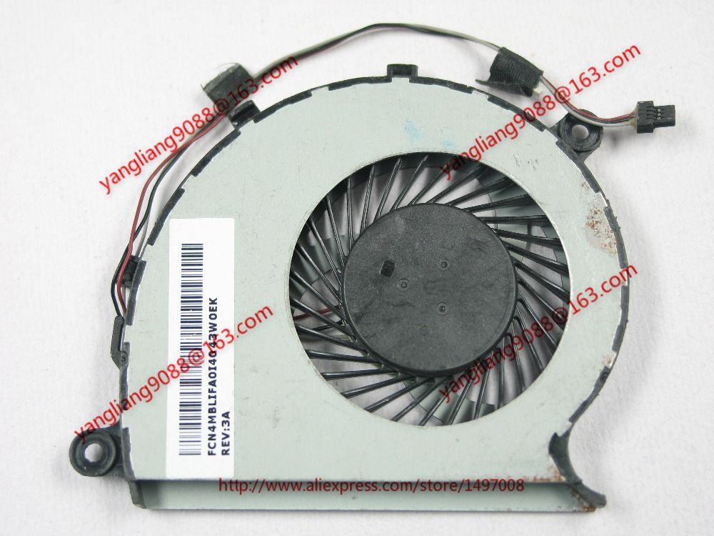 Emacro FCN DFS541105FC0T, FFDH DC 5V 0.50A 3-wire Server CPU fan