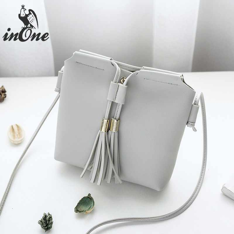 50cf6c5ffed ... INONE 2018 Ladies Hand Bags Cell Phone Women Messenger Crossbody  Shoulder Bags Squre Vegan Faux Leather ...