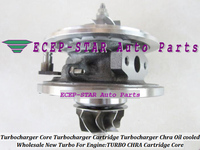 Free Ship Turbo CHRA Cartridge GT2556V 454191 5015S 454191 5012S 454191 Turbocharger For BMW 530D E39 730D E38 M57D M57 D30 3.0L