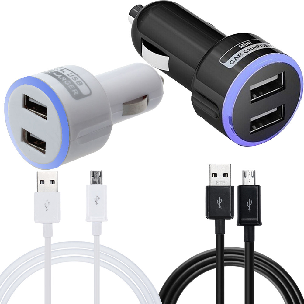 Amp Micro Usb In Car Charger Samsung