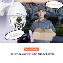 Techage 1080P 2MP Senza Fili PTZ Macchina Fotografica del IP Della Cupola di Velocità WIFI Telecamera di Sicurezza Esterna P2P Nube ONVIF Two Way Audio CCTV di Sorveglianza