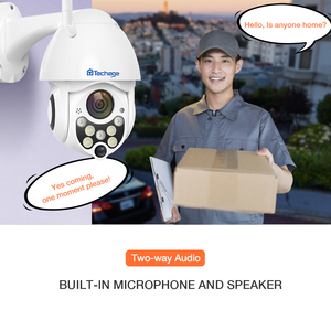 Image 1 - Techage 1080P 2MP Wireless PTZ IP Camera Speed Dome WIFI Security Camera Outdoor P2P Cloud ONVIF Two Way Audio CCTV Surveillance