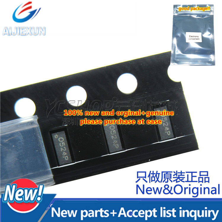 100pcs 100% New And Orginal CLAMP0524P RCLAMP0524P.TCT TVS Ultra Low Capacitance TVS Arrays In Stock