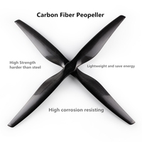 Carbon fiber Professional Helicopter propeller T3010 Noise reduction paddle for DIY Agriculture Plant Drone Accessories