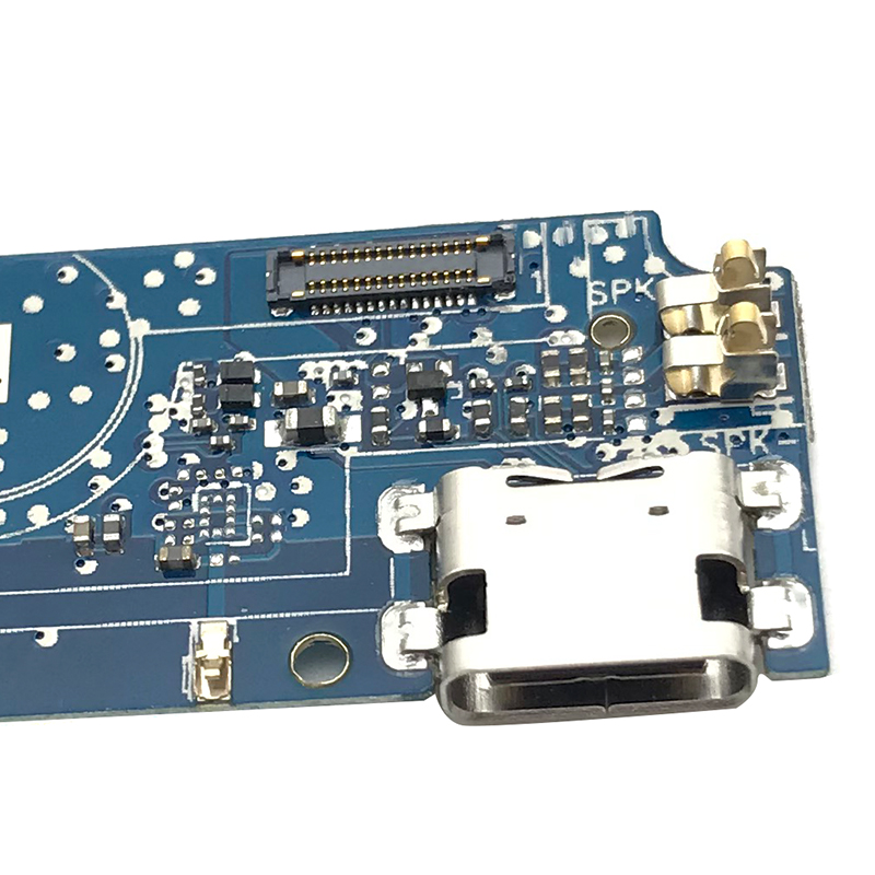 Dock Connector Micro USB Charger Charging Port Flex Cable Board With Microphone Replacement Parts For Cubot Power