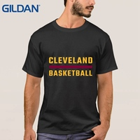 Rude Hip Tee Top Battery Trainingrt Wear Basketballer Cleveland Uniforms Loose White For Men T Shirt