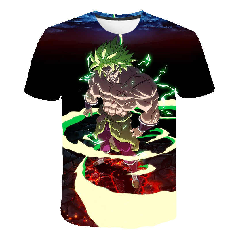 2019 Новое поступление крутой Goku Dragon Ball Z 3d футболка Летняя модная футболка с короткими рукавами мужские Аниме Драконий жемчуг зет футболки Harajuku