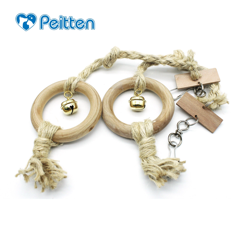 1 Pcs New Arrival Bird Toy Pet Bird Parrot Parrot Toy Swing Hanging Toy Chew Toy Hang Rope Bird Playing Supplies ...
