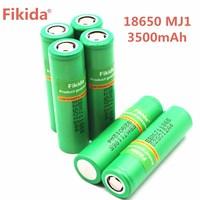 New 4PCS 100% Original for LG MJ1 18650 battery INR18650MJ1 10A discharge li iony battery cell 3500mah INR18650MJ1 batteries